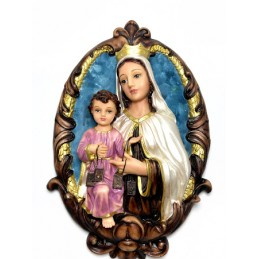 Medallon Virgen del Carmen
